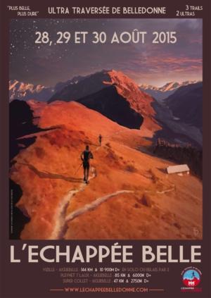 Affiche Échappée belle 2015