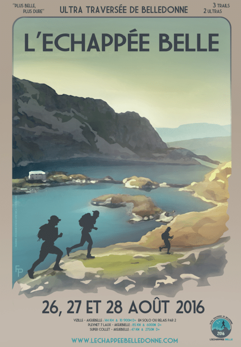 Affiche Échappée belle 2016